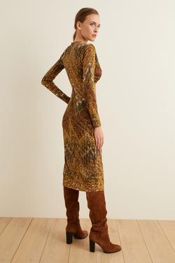 Örme Uzun Kol Elbise