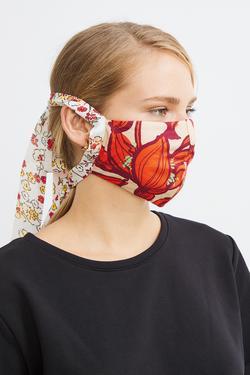 Desenli Maske