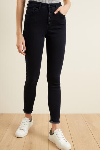 Lacivert Skinny Jean Pantolon