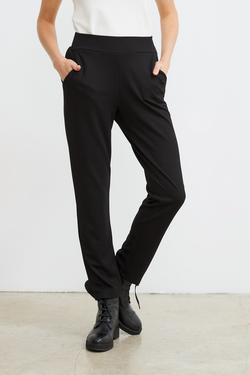 Yandan Cepli Örme Pantolon