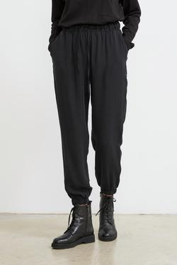 Paçası Lastikli Tencel Pantolon