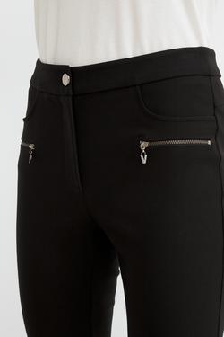 Femuarlı Örme Tayt Pantolon