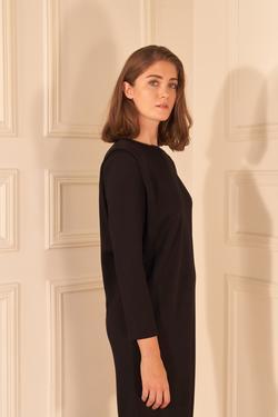Vatkalı Örme Elbise