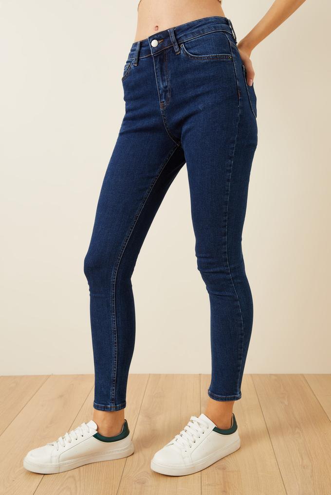 Mavi Cepli Skinny Jean Pantolon