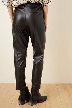 Boru Paça Deri Pantolon