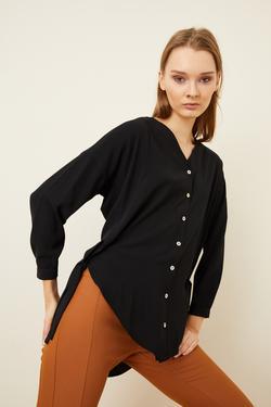 Yandan Bağlama Detaylı Bluz