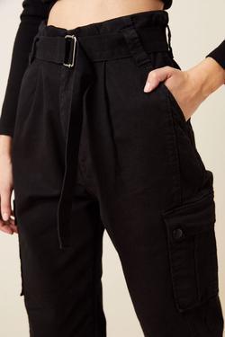 Kargo Cepli Non-Denim Pantolon