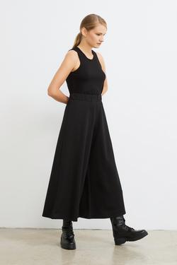 Beli Lastikli Culotte Pantolon