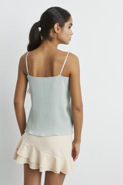 Ayarlamalı Askılı Bluz