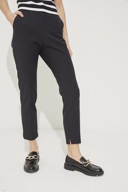 Cepli Paçası Yırtmaçlı Pantolon
