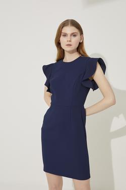 Kol Detaylı Elbise