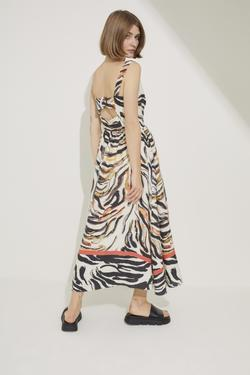 V  Yaka Kolsuz Elbise