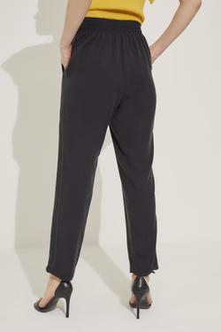 Aksesuar Detaylı Beli Lastikli Pantolon