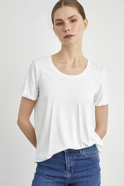 Yuvarlak Yaka Kısa Kol Tişört
