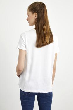 Flok Baskılı Tişört