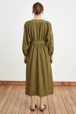 Etnik Nakış Detaylı Elbise