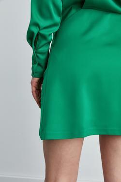 Gömlek Yaka Mini Elbise