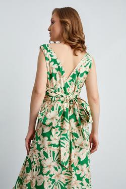 Kolsuz Beli Kuşaklı Elbise