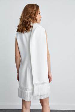 Kolsuz Fularlı Elbise