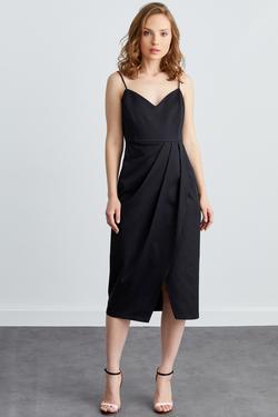 İp Askılı Anvelop Elbise