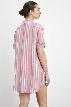 Duble Kol Gömlek Elbise