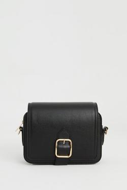 Metal Tokalı Mini Çanta