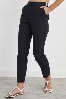Beli Lastikli Boru Paça Pantolon