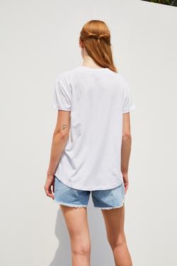 Baskılı Kısa Kol Tişört