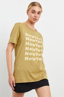 Kısa Kol Baskılı Tişört