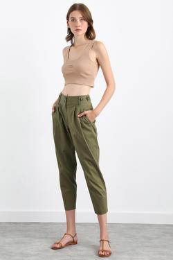 Pileli Cepli Pantolon
