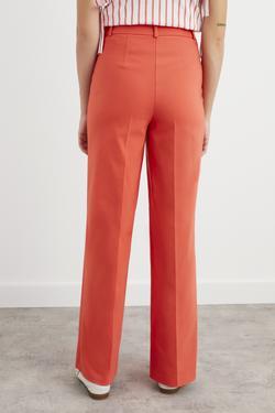 Cep Kapaklı Bol Paça Pantolon