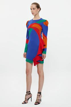 Uzun Kol Triko Elbise