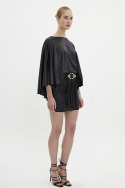 Yarasa Kol Örme Elbise